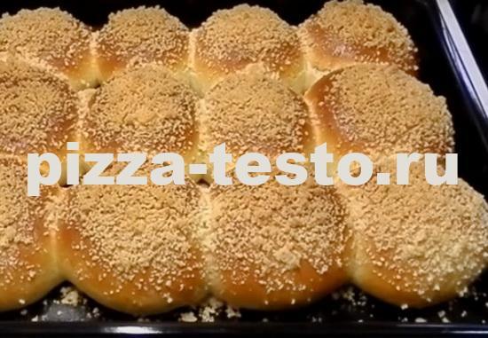 Сдобное тесто для булочек самое вкусное нежное