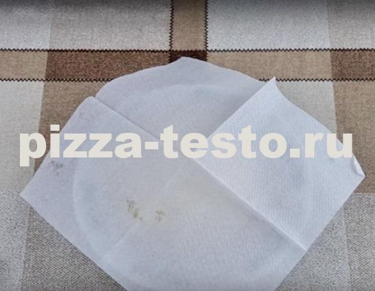 тесто для пиццы на минералке дрожжевое