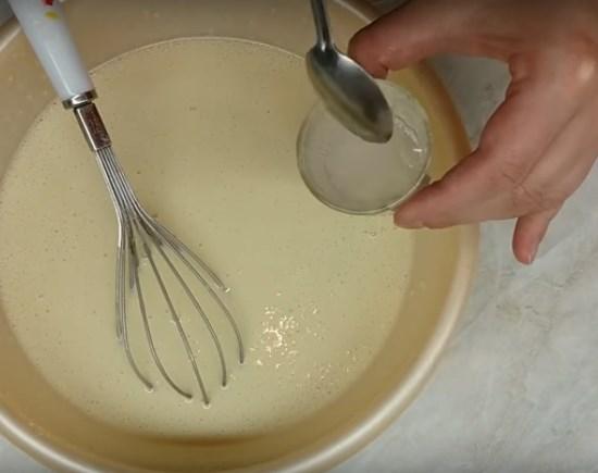 тесто на блины на молоке с яйцами