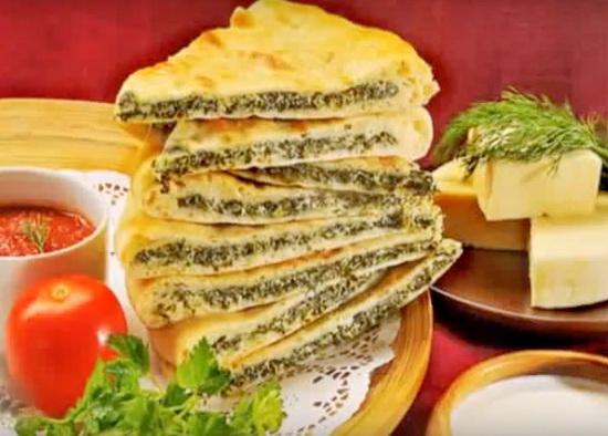 Тесто для осетинского пирога рецепт классический