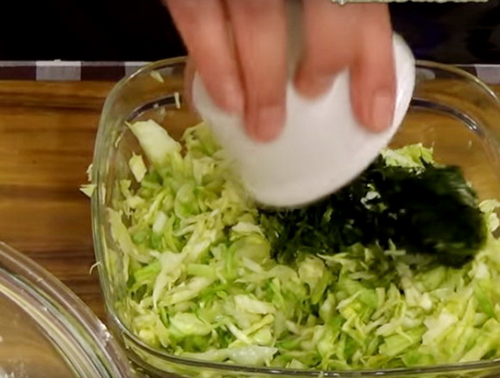 Жидкое тесто для пирога с капустой