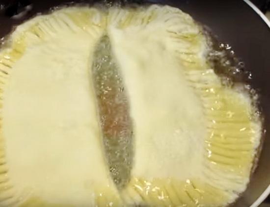 Тесто для чебуреков на кефире вкусное хрустящее