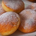 пончики на кефире пышные