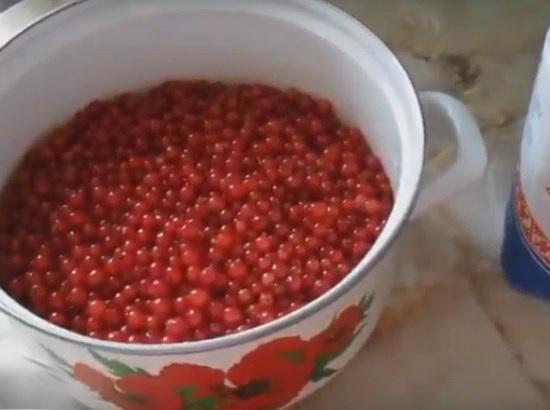 простой рецепт варенье из красной смородины