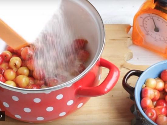 Варенье из первых ягод черешни на зиму - без косточек