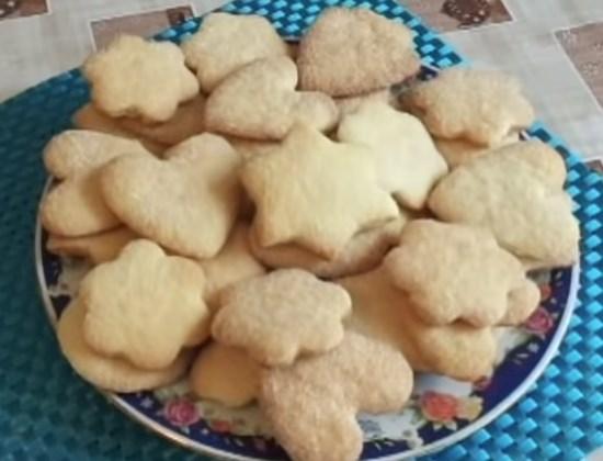 песочное печенье простой рецепт на сливочном масле