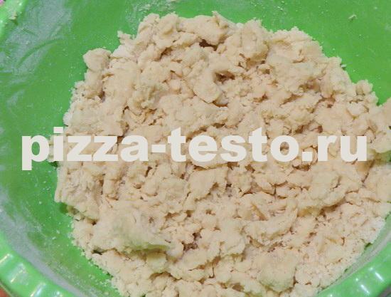 Песочное печенье с вареньем и крошкой рецепт