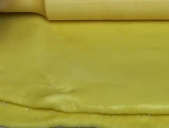 Печенье слоёное с сахаром