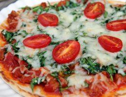 тесто для пиццы на сметане на сковороде